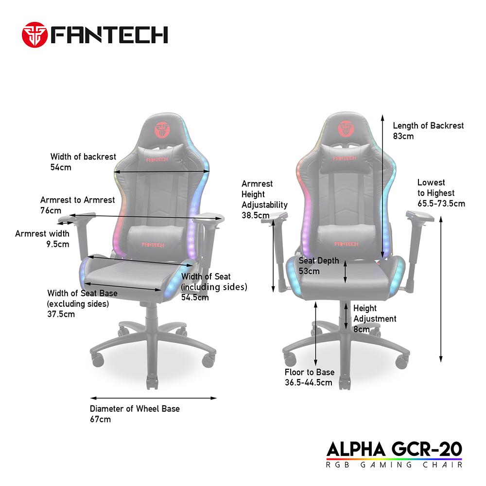 FANTECH RGB ALPHA GCR20