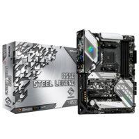 ASROCK AMD B550 Steel Legend RGB Motherboard