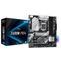 ASROCK Z490M Pro4 RGB Motherboard
