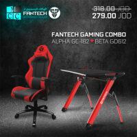 Fantech Economical Combo Gaming Chair GC-182 + Gaming GD612 Desk