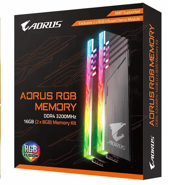AORUS RGB Gaming Memory 16GB (2x8GB) 3200MHz