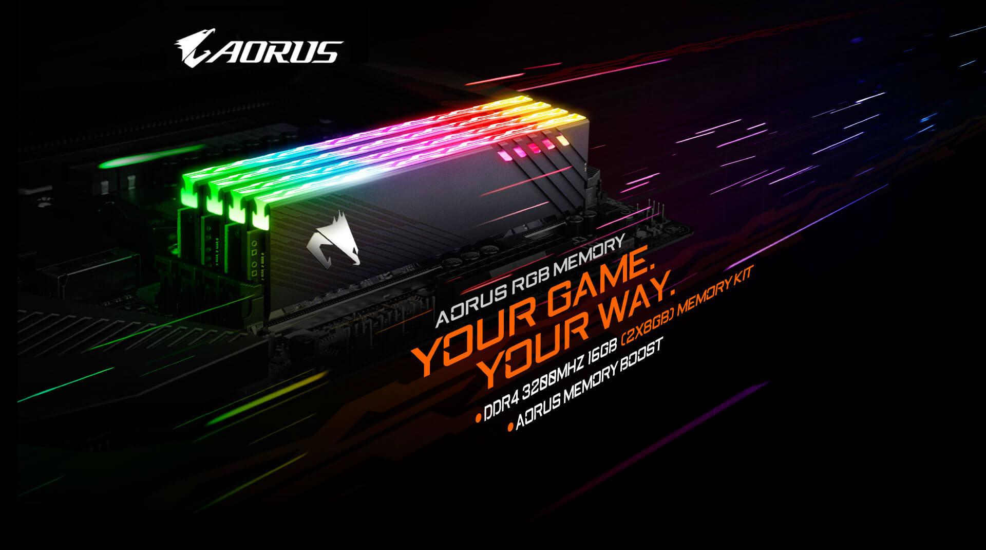 AORUS RGB Gaming Memory
