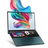 "ASUS ZenBook Duo UX481 14"" FHD NanoEdge Bezel Touch Display - ScreenPad"
