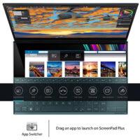 "ASUS ZenBook Duo UX481 14"" FHD NanoEdge Bezel Touch Display - ScreenPad-4"