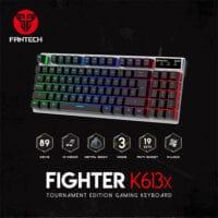 FANTECH FIGHTER K613X BACKLIT GAMING KEYBOARD