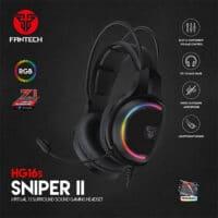 FANTECH SNIPER II HG16s VIRTUAL 7.1 GAMING HEADSET