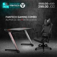 Fantech Premium Combo Gaming Chair GC-184 + Gaming GD600 Desk