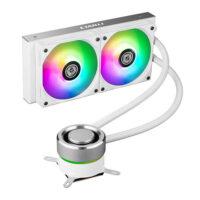 LIAN LI GALAHAD 240mm ARGB CPU Liquid Cooler - White Edition
