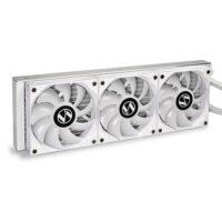 LIAN LI GALAHAD 360mm ARGB CPU Liquid Cooler - White Edition-1