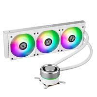 LIAN LI GALAHAD 360mm ARGB CPU Liquid Cooler - White Edition
