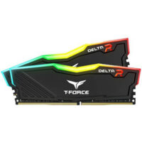 TEAMGROUP T-Force Delta RGB (2x8GB) Kit 3600MHz DDR4 PC Memory - Black-1