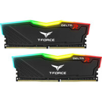 TEAMGROUP T-Force Delta RGB (2x8GB) Kit 3600MHz DDR4 PC Memory - Black