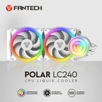 FANTECH LC240 POLAR SPACE EDITION RGB LIQUID COOLING