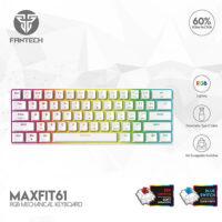 FANTECH MAXFIT61 MK857 SPACE EDITION RGB MECHANICAL KEYBOARD