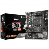 Msi B450M-A PRO MAX Gaming Motherboard