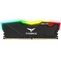 TEAMGROUP T-Force Delta RGB Single 16GB 3200MHz CL16 DDR4 Desktop Memory - Black